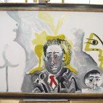 Maleri Personnage af Picasso indhent tilbud på konservering af dine malerier