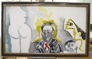 Picasso maleri Personnage