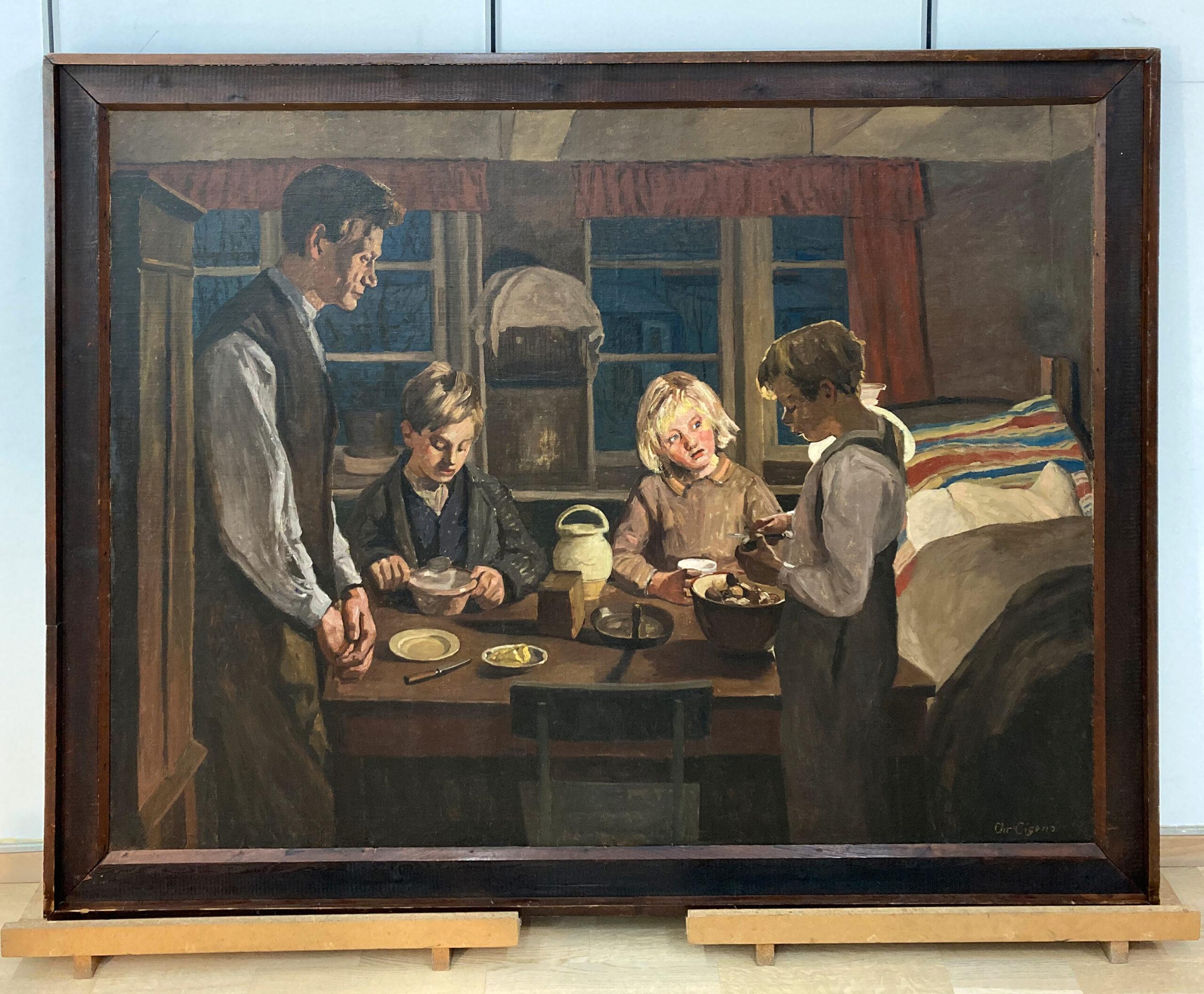 Giv os i dag vort daglige brød af Christian Aigens ejet af Arbejdermuseet